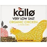 Kallo Very Low Salt Organic Chicken Stock Cubes, 48g