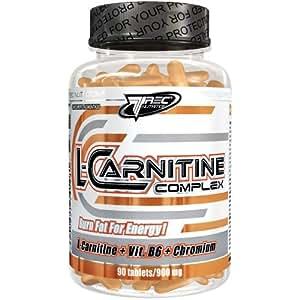 L-Carnitine 1000mg par portion - 90 Comprimés - Brûleur de Graisse / Minceur / Accélérer la sèche / Définition Musculaire Maximale