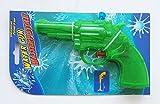 WASSERPISTOLE 3 Farben bis 5m Revolver Spritzpistole Wasser Pistole Kanone 29 (Grün)