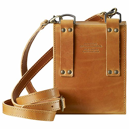 FjallRaven Packtasche Sarek Bino Bag Leather Cognac