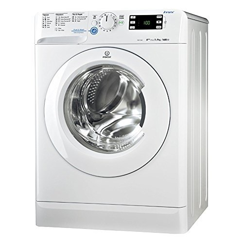 Indesit BWE91484XSUK 9 Kilogram Washing Machine with 1400 rpm Silver