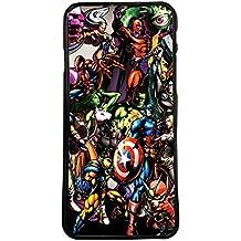 Funda carcasa para móvil diseño stickers marvel super heroes x-men compatible con Huawei P8 lite