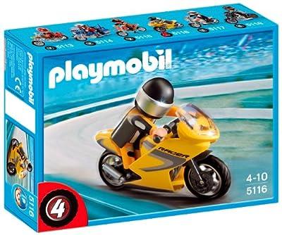 Playmobil 5116 - Moto De Carreras por Playmobil