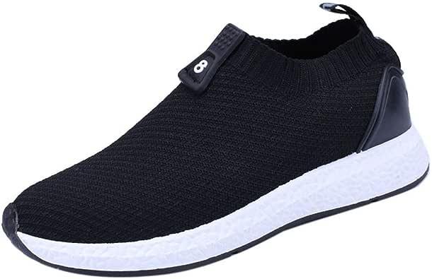 Ansenesna Sneaker Herren Sport Weiße Sohle Schuhe Flach