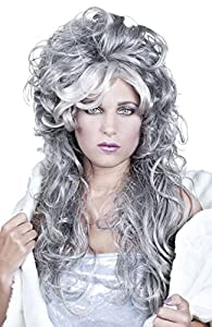 Boland 86044Adultos Peluca Ice Queen, Gris, One Size