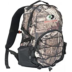 Mossy Oak Hunting Accessories Mossy Oak Silver Leaf 1 Day Pack, 17 x 15 x 7, Mossy Oak Infinity