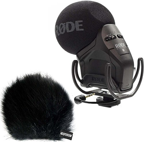 Galleria fotografica Rode svmpr Stereo VideoMic Pro Rycote fotocamera microfono + Keep Drum wsbk Fell-??