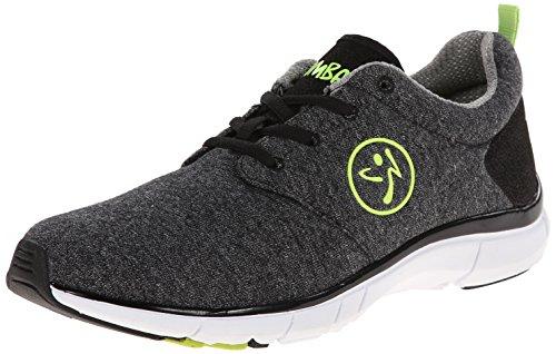 Zumba Footwear Zumba Fly Print, Damen Hallenschuhe, Schwarz (Black), 40.5 EU
