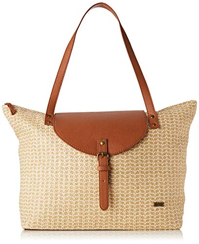 Roxy Beachy Beach Tote Femme, Natural, FR Fabricant : Taille Uniqu