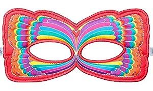 DREAMY DRESS-UPS 67701 - Máscara de Mariposa arcoíris (Talla única)
