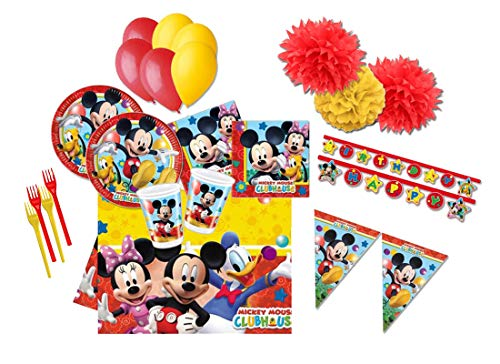 DECORATA PARTY Mickey Mouse Dekorationen