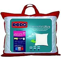 Dodo Maxiconfort Ultra Oreiller Uni Classique Blanc 50 x 70 cm Synthétique Medium