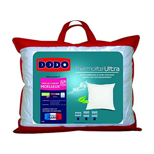 Dodo Maxiconfort Ultra Oreiller Uni Classique Synthétique Medium
