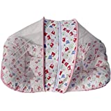 ZZ ZONEX Baby Toddler Mattress With Mosquito Net ( Print As Per Avaiable Stock )