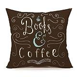 Best Vintage Book Art Café Livres - Livre les amoureux de Citation Couvre-lit Taie d'oreiller Review
