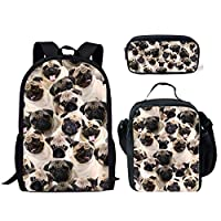 HUGSIDEA Stylish 3D Animal Lunch Bags for Adults Kids Food Boxes