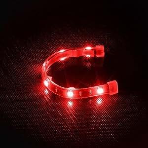BitFenix Alchemy Éclairage LED pour tuning PC Aqua 6 x LED 20 cm (Rouge) (Import Allemagne)