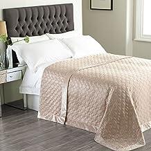 dessus de lit en satin. Black Bedroom Furniture Sets. Home Design Ideas
