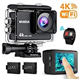 WiMiUS AI8000 Action Cam 4K WIFI HD 16MP Touch Screen Impermeabile Fotocamera 30M Videocamera...