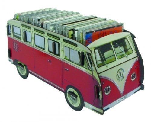 Werkhaus VW-Multibox Transporter, Rote Farbe -