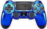 Blau Chrom Modding PS4Rapid Fire Controller für Alle Shooters, Cod 2. Weltkrieg & fortnite