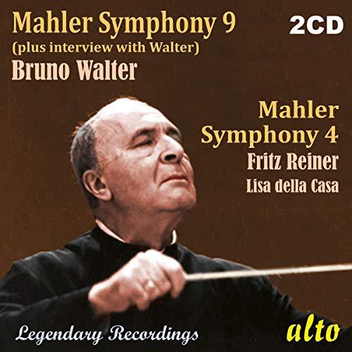 Preisvergleich Produktbild Gustav Mahler - Symphony No. 9; Symphony No. 4