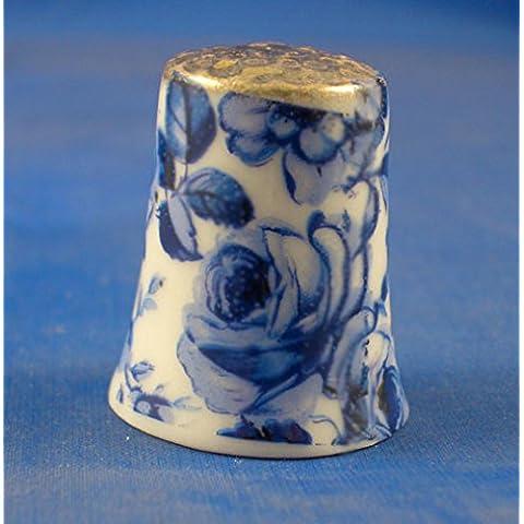 Kelkay-Ditale in porcellana cinese, motivo floreale