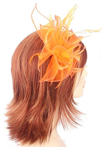 orange-organza-and-feather-hair-fascinator-finished-on-slim-headband