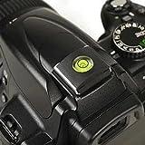 Protège griffe avec niveau à bulle. Cache griffe flash. cache sabot flash pour appareil photo DSLR Canon Nikon Pentax Olympus Panasonic Protection niveau a bulle photo - ADAPTOUT MARQUE FRANÇAISE
