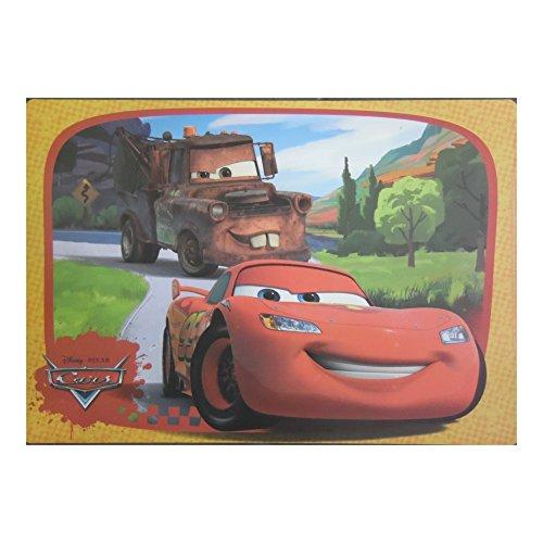 Set de table Cars Disney garçon repas enfant Flash Mc Queen sous main