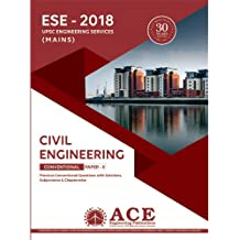 ESE 2018 Mains Civil Engg Conventional Paper 2, Previous Conventional Questions with Solutions,