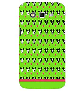 PrintDhaba Mickey Face Pattern D-1596 Back Case Cover for SAMSUNG GALAXY GRAND 2 (Multi-Coloured)