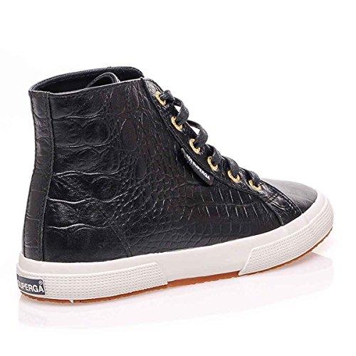 Superga 2095-Plus Fglwembcocco, Sneaker, Donna BLACK