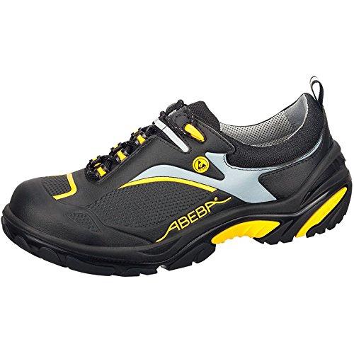 Abeba Crawler ESD S3 - Scarpe basse, colore nero/giallo Black/yellow