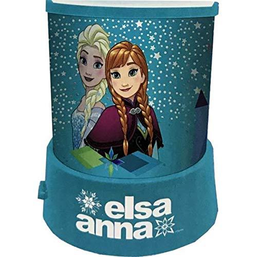 veilleuse projecteur d'étoiles avec les personnage Elsa anna Frozen Disney