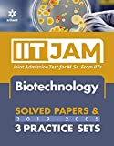 IIT JAM Biotechnology Solved Papers and Practice Sets 2020