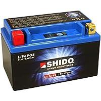 12V//8AH Ma/ße: 150x87x105 f/ür Kawasaki Z1000//ABS Baujahr 2007 Batterie Nitro YTX9-BS