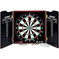 Winmau Dartboard, Cabinet and Darts. by Winmau