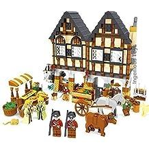 Medieval Farm Market Village castle house friends GREAT VALUE New Sealed #28001