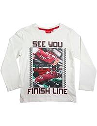 Cars 2 Langarmshirt Kollektion 2016 Shirt 98 104 110 116 122 128 Disney Lightning McQueen Beige