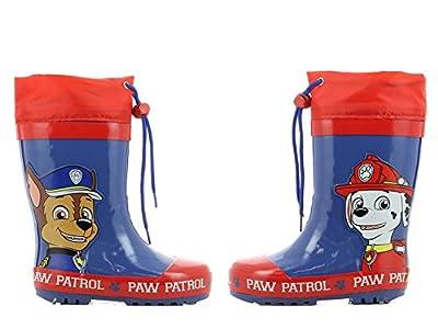 Paw Patrol Boys Kids Boots Rainboots, Botas de Agua para Niños de Paw Patrol