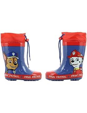Paw Patrol Boys Kids Boots Rainboots, Botas de Agua para Niños