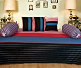 Ab Home Decor 100% Cotton Diwan Set (6 P...