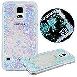 URFEDA Transparent Schutzhülle für Samsung Galaxy S5 Hülle Hart Plastik