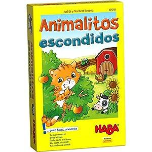 HABA- Juego de Mesa, Animalitos Escondidos, (Habermass H304251)