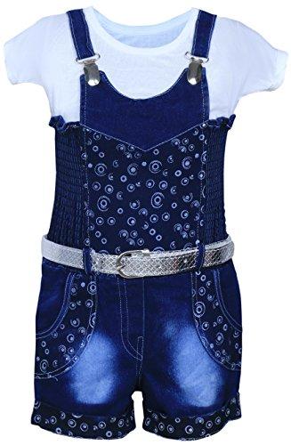 Mpc Baby Girl'S Dress (Jeans_Jumpsuit _Blue_22_Blue_22)