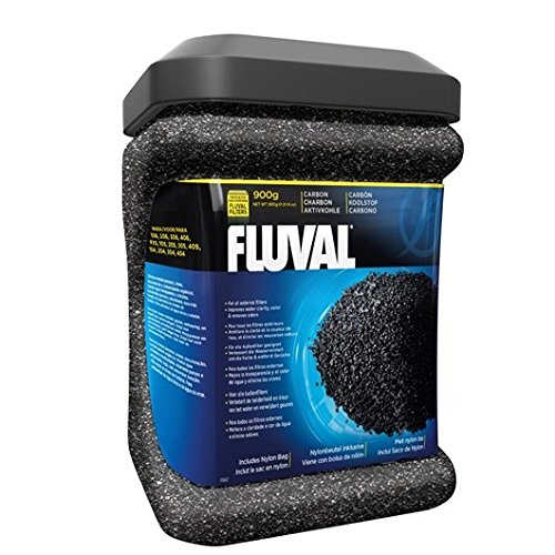 Fluval Carbon 900g complete with net bags Test