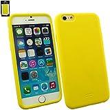 "Emartbuy® Apple Iphone 6 6G 6S 4.7 "" Zoll Silicon Hülle Schutzhülle Case Cover Gelb"