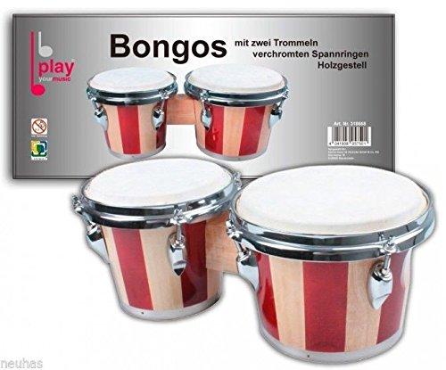 Bongos mit zwei Trommeln