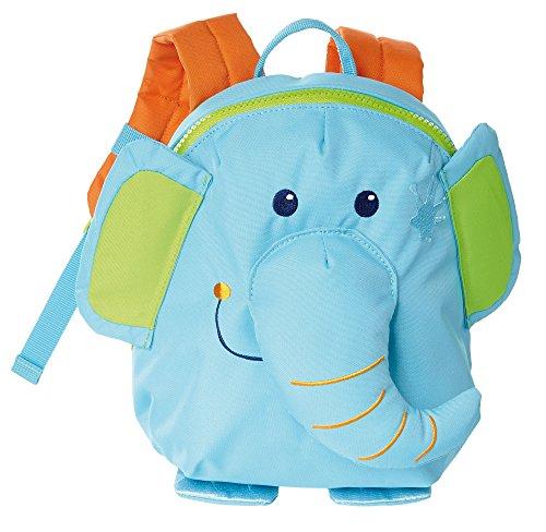 sigikid, Mädchen und Jungen, Mini Rucksack, Motiv Elefant, Hellblau, 24621